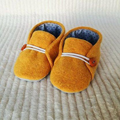 Orange Baby Soles