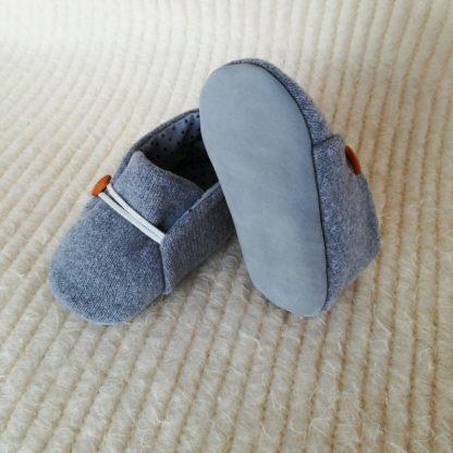 Grey Baby soles